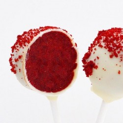 RED VELVET (cake pops)