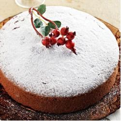 ΒΑΣΙΛΟΠΙΤΑ ΜΕ QUEEN CAKE  (α)