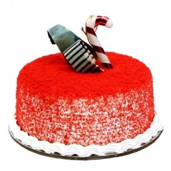 RED VELVET NEW YEAR'S CAKE