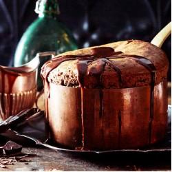 MOLTEN CHOCOLATE SOUFFLE